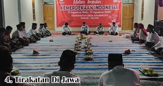 Tirakatan Di Jawa merupakan salah satu tradisi unik 17an di berbagai daerah Indonesia