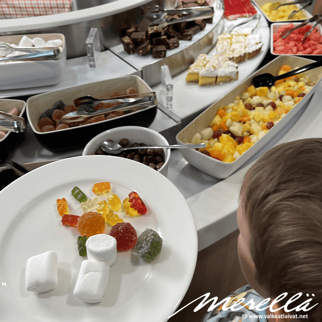 Baltic Princessin buffet