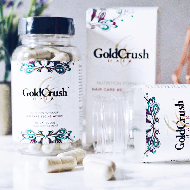 GoldCrush Hair Capsuels