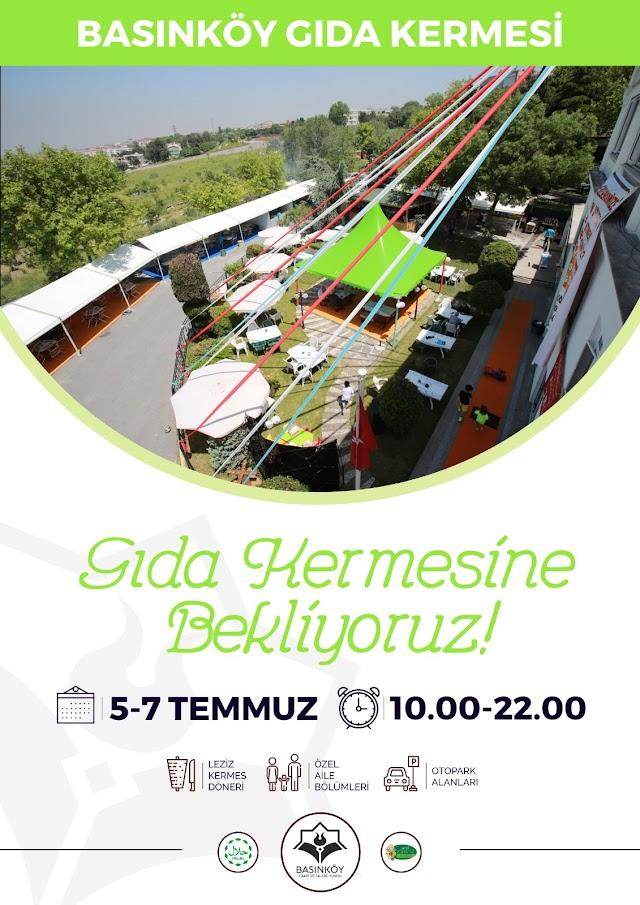İstanbul Bakırköy Basınköy Kermesi