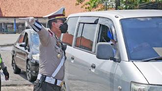 Polisi Tangkap Taksi Gelap Pemudik Ingin Kembali ke Jakarta