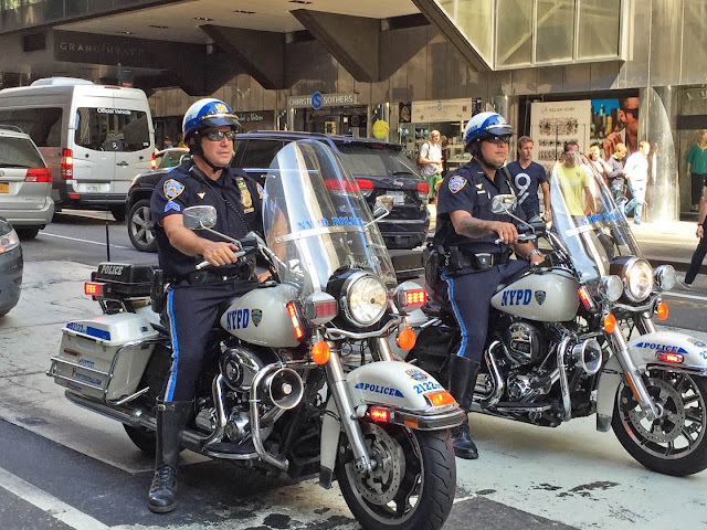mariette's back to basics: {new york city police department on