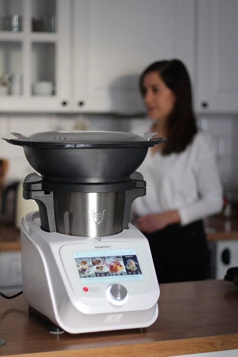 Test Robota Z Lidla Monsieur Cuisine Connect Waniliowa Chmurka