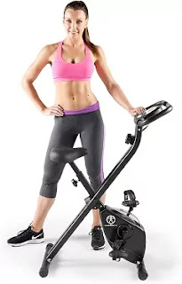 Marcy Folding Upright Exercise Bike NS654