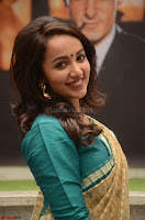 Tejaswi Madivada looks super cute in Saree at V care fund raising event COLORS ~  Exclusive 066.JPG