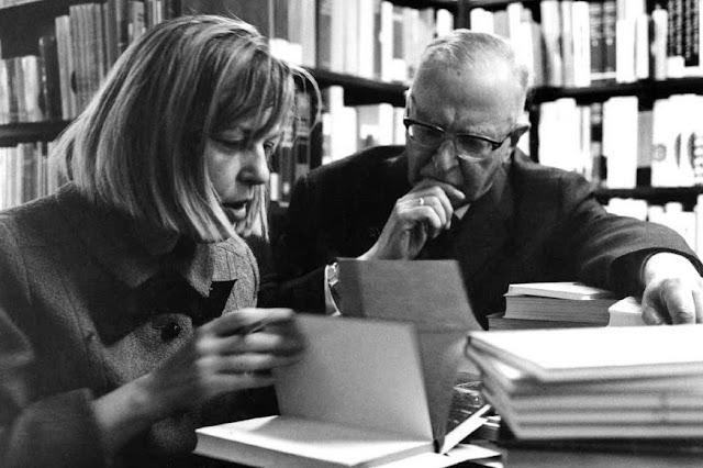 Η Ίνγκεμποργκ Μπάχμαν με τον Κουρτ Ζάουκε το 1962