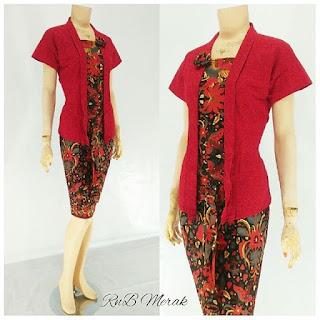 RnB Batik Merak Merah