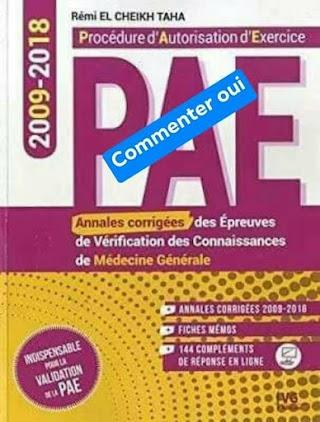 Annales corrigées PAE 2009-2018 .pdf