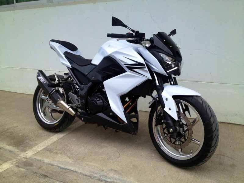 Kumpulan Foto Modifikasi Motor Kawasaki Z250 Terbaru