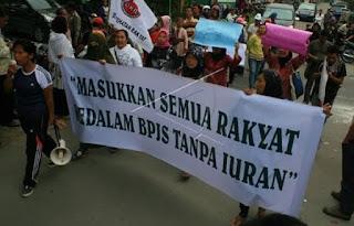 Iuran BPJS Naik, Buruh: Lebih Enak Jamsostek