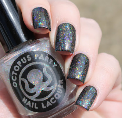 Octopus Party Nail Lacquer Prism Sentence | Original Version over OPNL Krait & Barrel