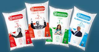 """Al cumplirse un año del """"renunciamiento"""" de Cristina, La Serenísima lanza su línea de leches peronistas https://bit.ly/3cOFUDi"""