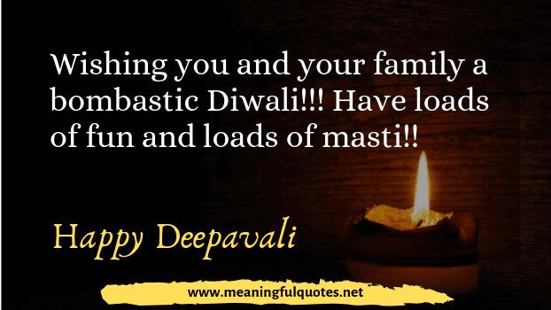 happy Diwali wishing sms