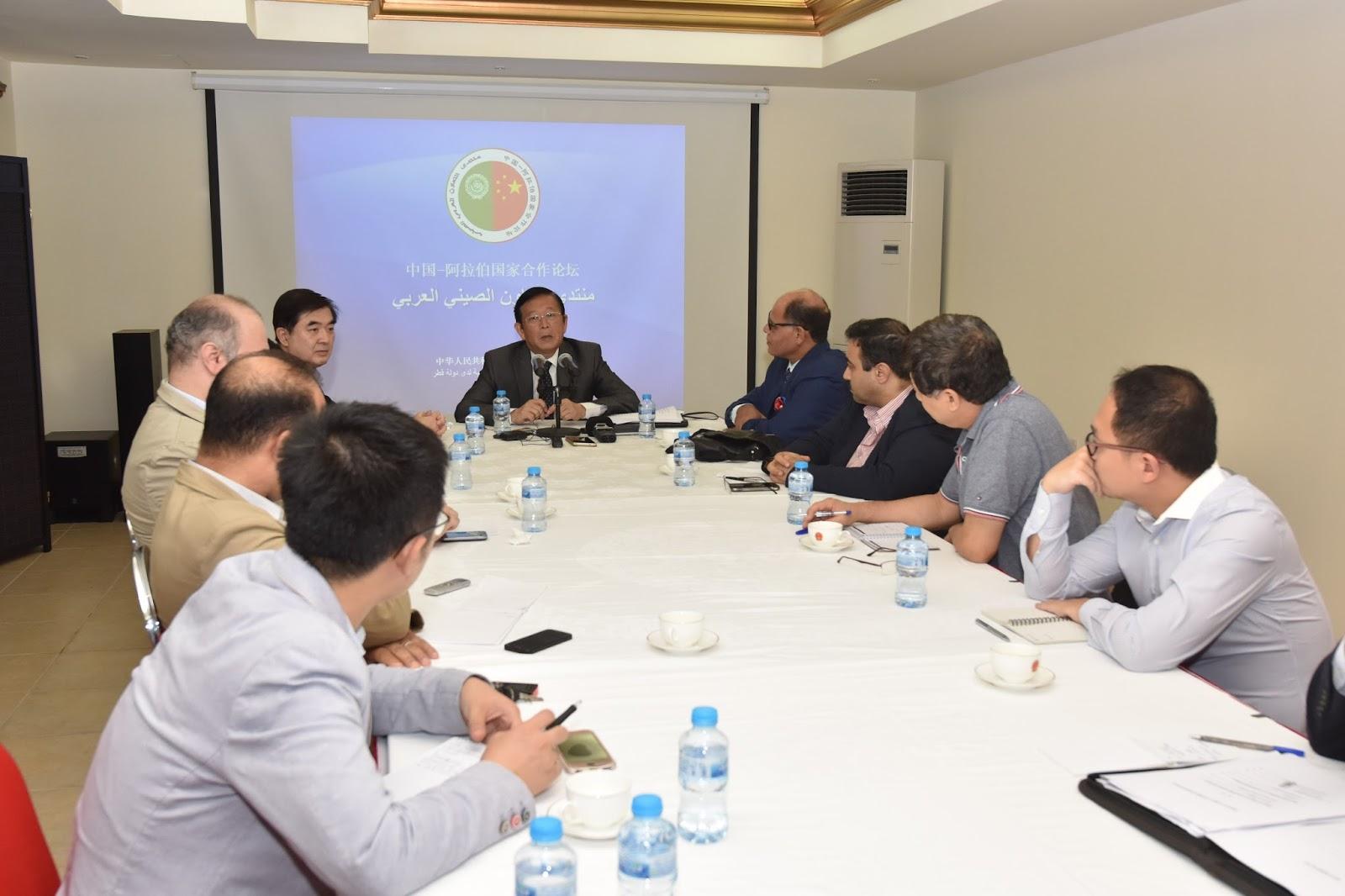 3bacbbbee سفير الصين لشؤون منتدى التعاون العربي - الصيني: مشاركة قطر بمبادرة