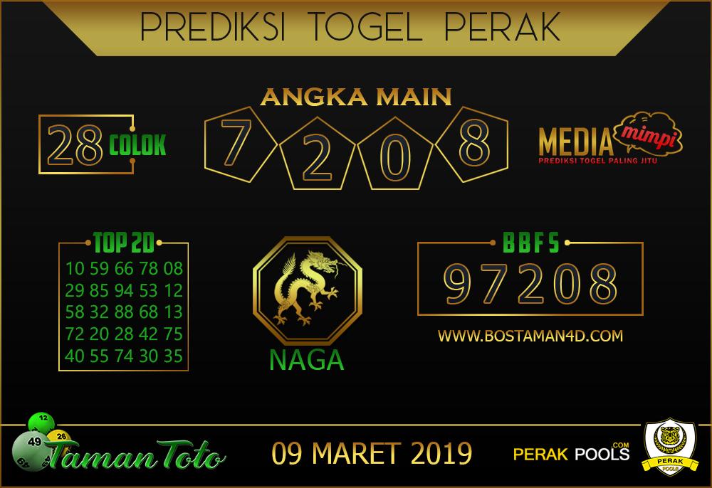 Prediksi Togel PERAK TAMAN TOTO 09 MARET 2019