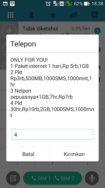 paket only for you im3