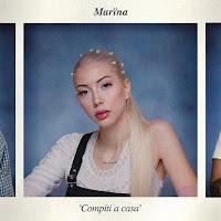 compiti a casa copertina dell'album di esordio di marina la ragazza di sick luke