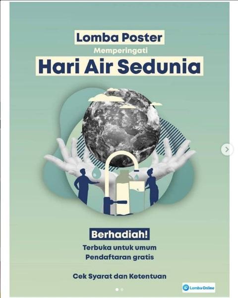 Lomba Poster Memperingati Hari Air Sedunia
