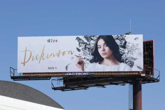 Dickinson Apple TV billboard