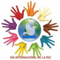 Imagen alusivo al Día Internacional de la Paz con diferentes manos