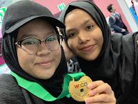 Zamlarini, Siswi Asal Bengkulu Pimpin Tim Juarai Olimpiade Internasional di Korea