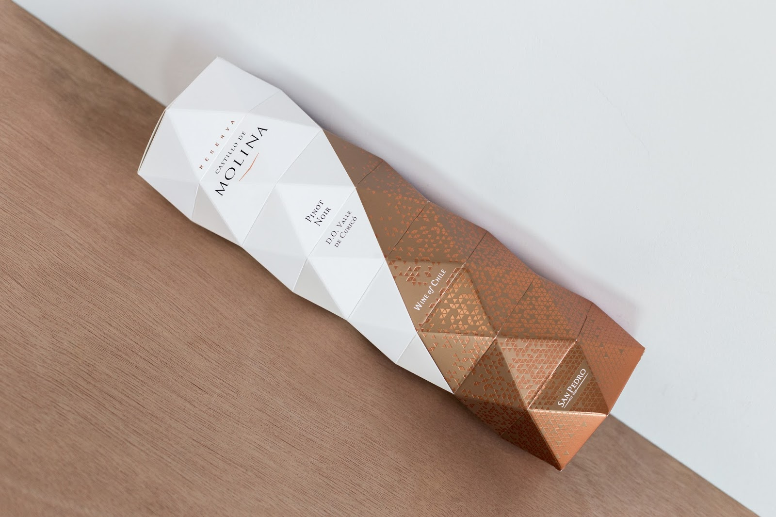Castillo De Molina Origami Packaging On Of The World