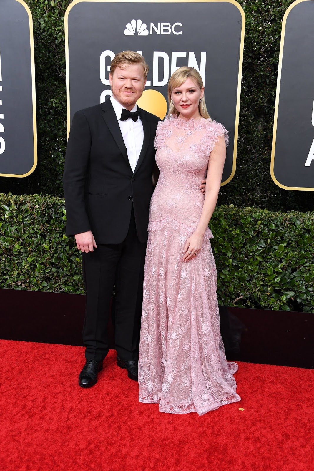 Kirsten Dunst and Jesse Plemons Make Rare Appearance at the Golden Globes: 'Parents' Night Out!'