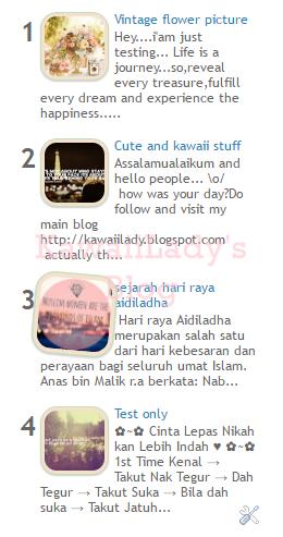 Customize popular post widget