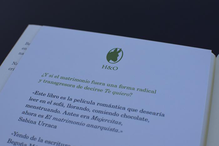 Begoña Méndez y Nadal Suau: «El matrimonio anarquista» (Hurtado & Ortega)