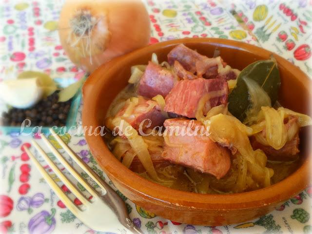 """Atún """"encebollao"""" (La cocina de Camilni)"""