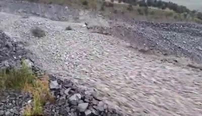 Fenomena Langka, Sungai Batu Hebohkan Warganet Dunia