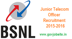 BSNL JTO Recruitment 2016