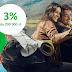 3% do 200 tys. zł i 3,5% do 10 tys. zł na koncie oszczędnościowym w Getin Bank (+ 50 zł i 2 bilety do kina na start)