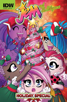 Jem and the Holograms 2015 Holiday Special