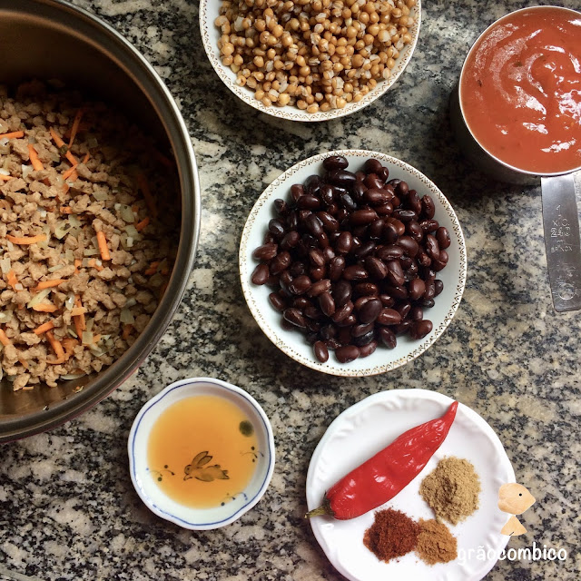 Chilli ingredientes