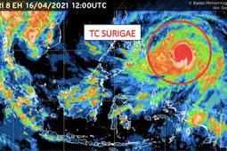 9 Provinsi Diminta Siap Siaga Akibat Siklon Tropis Surigae Meningkat 24 Jam