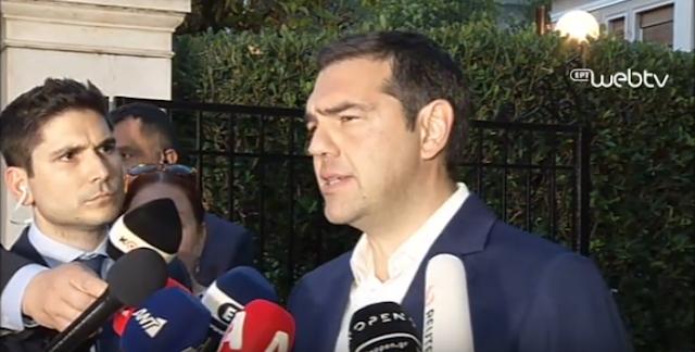 Αυστηρό μήνυμα Τσίπρα στην Τουρκία: Όποιος παραβιάσει τα κυριαρχικά δικαιώματα Ελλάδας και Κύπρου θα έχει συνέπειες – VIDEO