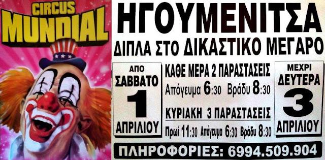 Οι νικητές των δωρεάν προσκλήσεων για τις παραστάσεις του τσίρκου