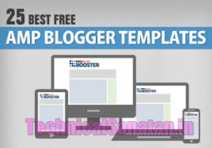25+ Best AMP Blogger Template in 2021 Free Download - Fast Loading AMP Blogger Templates In 2021