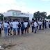 Lapa: alunos e professores se manifestam com abraço simbólico em defesa do IFBaiano