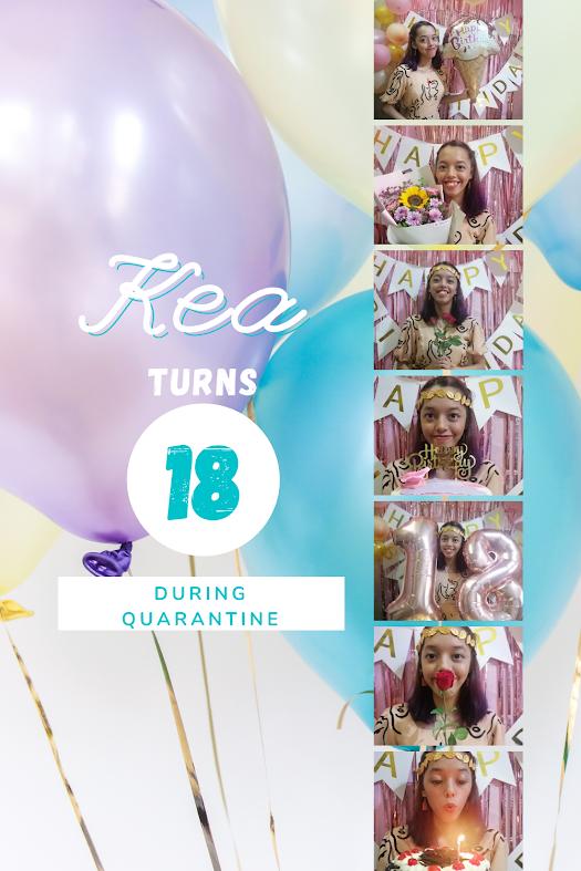 18th birthday, quarantined