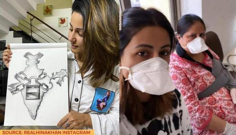 hina-khan-reached-hospital-with-mother-amid-lockdown