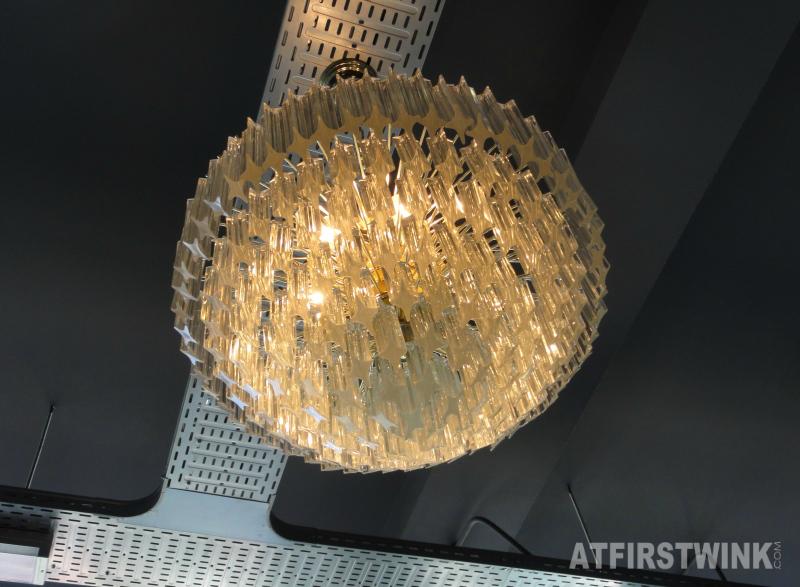 Jamie's Italian Markthal chandelier crystal lamp