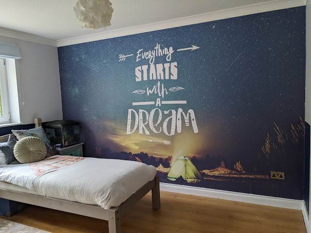 Finished decorated room