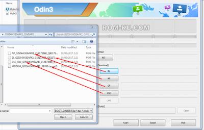Pilih Firmware 4 File