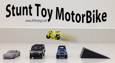 Tiny Performance Toy Motorbike