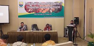 Kabid TPH DTPHP Membuka Secara Resmi Pertemuan Sinkronisasi ASEM Hortikultura 2019.