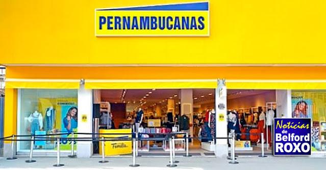 Belford Roxo ganhará Lojas Pernambucanas no próximo mês