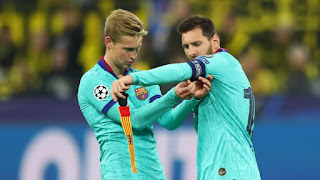 Barca midfielder De Jong has revealed that the club is quite a mess now with the Messi Transfer saga