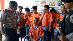 Begal di Bangkalan ditembak Dua Peluru